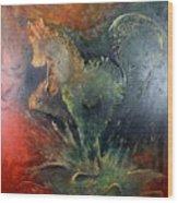 Spirit Of Mustang Wood Print