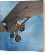 Spirit Of Saint Louis Flys Again Wood Print