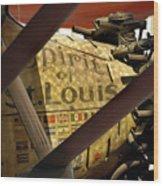 Spirit Of St Louis At Smithsonian Wood Print