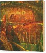 Spirit Of The Jungle Whale Wood Print