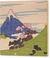 Spirit Of Ukiyo-e In The Light Of Shinto Wood Print