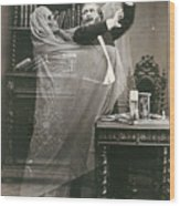Spirit Photograph, 1863 Wood Print