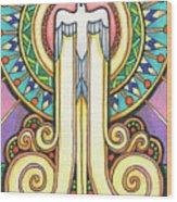Spirit Rising Wood Print