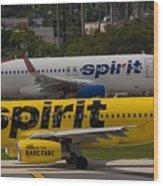 Spirit Spirit Wood Print
