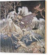 Spirits In Sleepy Hollow Wood Print
