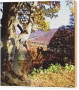 Spirits In View Wood Print