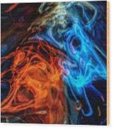 Spirits Wood Print