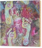 Spiritual Awakening Wood Print by Vijay Sharon Govender