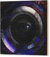 Spiritual Eyes Wood Print