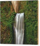 Spiritual Falls Wood Print