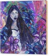 Spiritual Garden Of Hope Wood Print