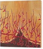 Spiritual Growth Wood Print