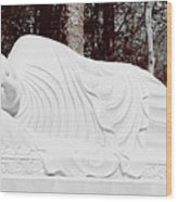 Spiritual Rest Wood Print