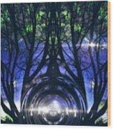 Spiritual Roots Wood Print