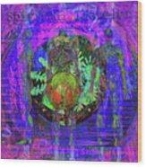 Spiritual Traveler Wood Print by Joseph Mosley