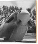 Spitfire Nose Wood Print