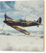 Spitfire P7350 Wood Print