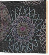 Spirograph 1010 Wood Print