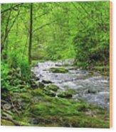Spivey Creek Wood Print