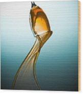 Splash-006 Wood Print