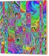 Splash 2 Wood Print