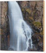 Splash Down Wood Print