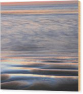 Splash Wood Print by JC Findley