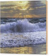 Splash Sunrise IIi Wood Print