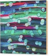 splatterdash No.2 Wood Print