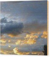 Splendid Cloudscape 1 Wood Print