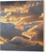 Splendid Cloudscape 2 Wood Print