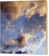 Splendid Cloudscape 3 Wood Print