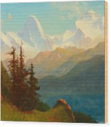 Splendor Of The Grand Tetons - Wyoming Territory Wood Print
