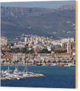 Split Croatia's Waterfront Wood Print