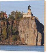Split Rock Lighthouse  9321 Wood Print