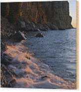 Split Rock Lighthouse At Dawn Wood Print