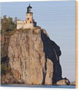 Split Rock Lighthouse Crop 9321 Wood Print