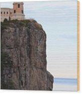 Split Rock Lighthouse Five Wood Print