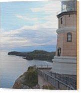 Split Rock Lighthouse Four Wood Print