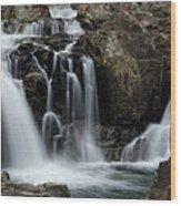 Split Rocks Falls 2 Wood Print