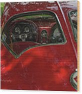 Split Roof Corvette Wood Print