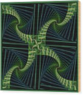 Splits Bow Wood Print