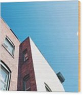 Spokane Brick Buildings 3 Wood Print