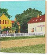 Spooner's Paint Shop Wood Print