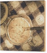 Spoonful Of Sugar Wood Print