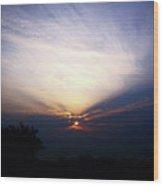 Spotlight Sunrise Wood Print