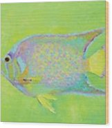 Spotted Tropical Fish Wood Print