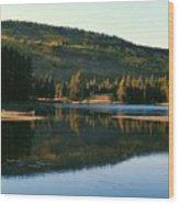 Sprague Lake At Dusk Rocky Mountain National Park Wood Print