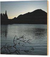 Sprague Lake Dawn Wood Print