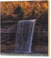 Spray Falls Wood Print